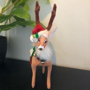Christmas Annalee reindeer